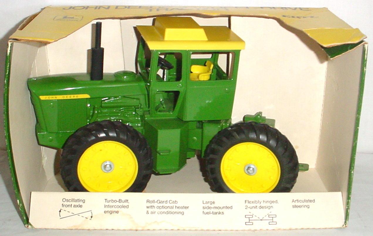 1//64 CUSTOM AGCO ALLIS CHALMERS 9650 TRACTOR WITH FWA /& DUALS ERTL FARM TOY
